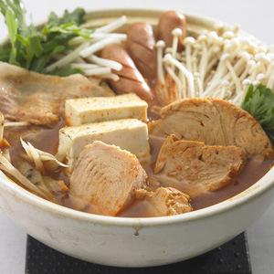 ツナ入りキムチ鍋