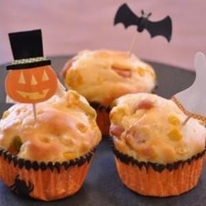 コーンとかぼちゃのランチマフィン