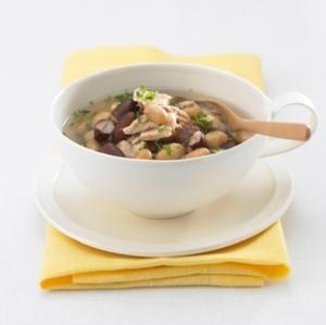 赤白豆の健康スープ