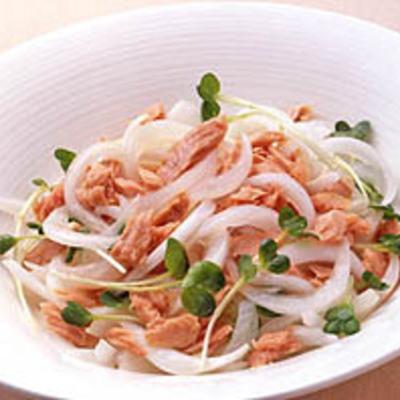 ツナと玉ねぎのサラダ