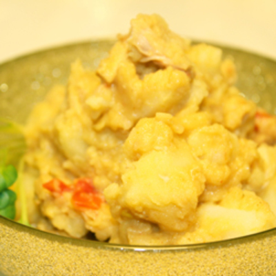 タイカレーポテトサラダ