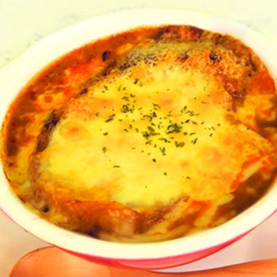 カレーグラタンスープ